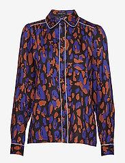 Selected Femme - SLFTESSA LS SHIRT B - long sleeved blouses - black - 0