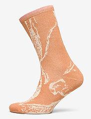Selected Femme - SLFVIDA SOCK B - sokken - caramel - 0