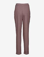 Selected Femme - SLFBEATRICE HW FOLD UP PANT B - bukser med smalle ben - true red - 1