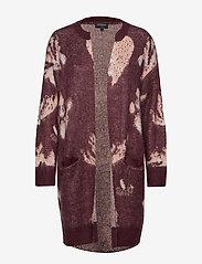 Selected Femme - SLFRILEY LS KNIT CARDIGAN B - cardigans - decadent chocolate - 0