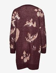 Selected Femme - SLFRILEY LS KNIT CARDIGAN B - cardigans - decadent chocolate - 1