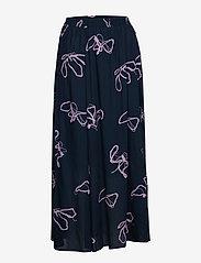 Selected Femme - SLFHAVEN MW MAXI SKIRT B - maxi skirts - dark sapphire - 0