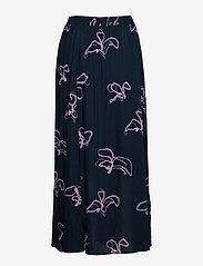 Selected Femme - SLFHAVEN MW MAXI SKIRT B - maxi skirts - dark sapphire - 1