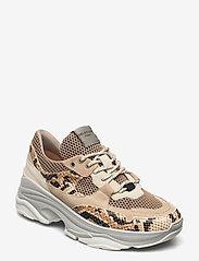 Selected Femme - SLFGAVINA TRAINER B - chunky sneakers - tigers eye - 0