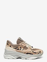 Selected Femme - SLFGAVINA TRAINER B - chunky sneakers - tigers eye - 1