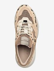 Selected Femme - SLFGAVINA TRAINER B - chunky sneakers - tigers eye - 3