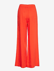 Selected Femme - SLFTONIA HW PANTS B - uitlopende broeken - cherry tomato - 1
