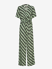 Selected Femme - SLFPIXIE SS WIDE JUMPSUIT B - jumpsuits - laurel green - 0