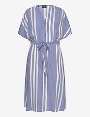 Selected Femme - SLFVIENNA SS AOP SHORT DRESS B - midi kjoler - country blue - 0