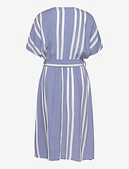 Selected Femme - SLFVIENNA SS AOP SHORT DRESS B - midi kjoler - country blue - 1