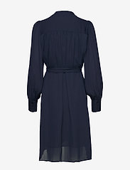 Selected Femme - SLFALVA LS WRAP DRESS NOOS - robes portefeuille - dark sapphire - 1