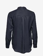Selected Femme - SLFARABELLA-ODETTE LS SHIRT NOOS - long sleeved blouses - dark sapphire - 1
