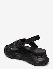 Selected Femme - SLFOLLIE SANDAL B - flat sandals - black - 2
