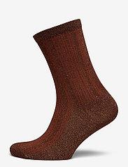 Selected Femme - SLFLANA SOCK B - sokken - smoked paprika - 0