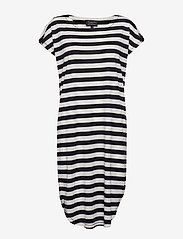 Selected Femme - SLFIVY SS KNEE DRESS B - robes midi - black - 0
