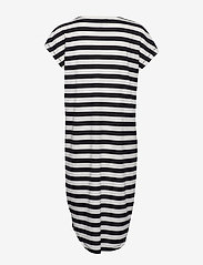 Selected Femme - SLFIVY SS KNEE DRESS B - robes midi - black - 1