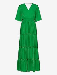 Selected Femme - SLFRAYA 2/4 MAXI DRESS B - maxi dresses - bright green - 0