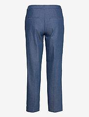 Selected Femme - SLFJEANNE-EMI MW DENIM PANT W - broeken med straight ben - dark blue - 1