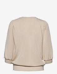 Selected Femme - SLFTENNY 3/4 SWEAT - sweatshirts - birch - 1