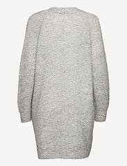 Selected Femme - SLFLULU LS KNIT LONG CARDIGAN - koftor - light grey melange - 1