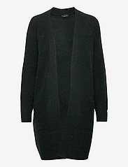 Selected Femme - SLFLULU LS KNIT LONG CARDIGAN - koftor - scarab - 0