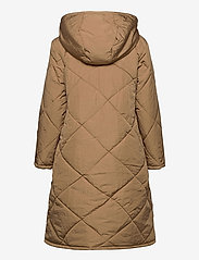Selected Femme - SLFMARAN PADDED COAT B - padded coats - tigers eye - 2