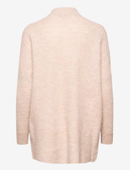 Selected Femme - SLFLULU ENICA LS KNIT O-NECK - truien - birch - 1