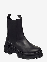 Selected Femme - SLFLUCY LEATHER CHELSEAOOT - chelsea boots - black - 0