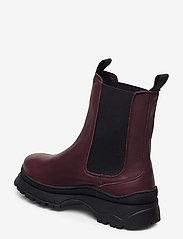 Selected Femme - SLFLUCY LEATHER CHELSEAOOT - chelsea boots - winetasting - 2