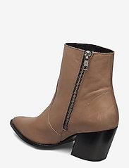 Selected Femme - SLFJULIE LEATHER BOOT B - ankelstøvler med hæl - tigers eye - 2
