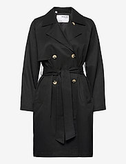 Selected Femme - SLFWEKA TRENCHCOAT - trenchcoats - black - 0
