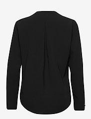 Selected Femme - SLFLUNA LS  TOP NOOS - long sleeved blouses - black - 1