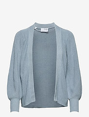 Selected Femme - SLFEMMY LS KNIT CARDIGAN - cardigans - cashmere blue - 0