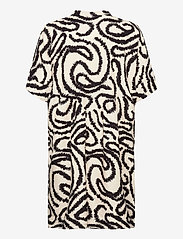 Selected Femme - SLFMARILYN-VIOLA 2/4 DRESS EX - alledaagse jurken - sandshell - 1