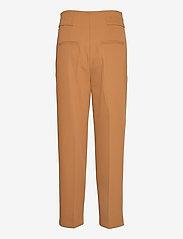 Selected Femme - SLFLEVA HW PANT B - straight leg hosen - rubber - 1