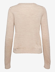 Selected Femme - SLFMAGDA WOOL LS KNIT O-NECK S - pullover - birch - 1