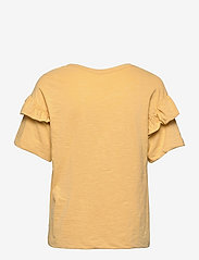Selected Femme - SLFRYLIE SS FLORENCE TEE M - t-shirts & tops - sahara sun - 1