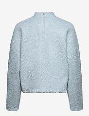 Selected Femme - SLFHALLI LS TOP EX - fleece jassen - cashmere blue - 1