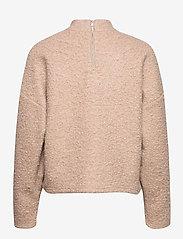 Selected Femme - SLFHALLI LS TOP EX - mid layer jackets - tigers eye - 1