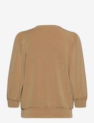 Selected Femme - SLFTENNY 3/4 SWEAT TOP - sweatshirts - tannin - 1