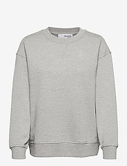 Selected Femme - SLFSTASIE LS SWEAT - sweatshirts & hoodies - light grey melange - 0