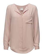 SFDYNELLA LS SHIRT F NOOS - SEPIA ROSE