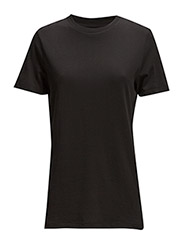SLFMY PERFECT SS TEE BOX CUT NOOS - BLACK