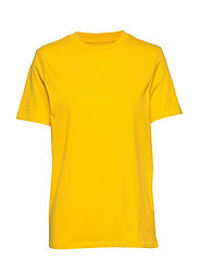 SLFMY PERFECT SS TEE BOX CUT COLOR - EMPIRE YELLOW