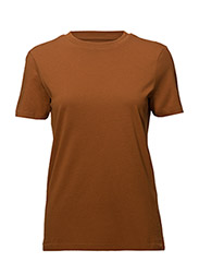 SFMY PERFECT SS TEE - BOX CUT COLOR - GLAZED GINGER