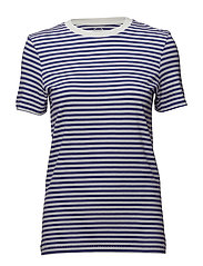 SFMY PERFECT SS TEE - BOX CUT-STRI COLOR - LIBERTY