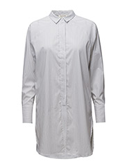 SFBALIA LS LONG SHIRT - OPTICAL SNOW