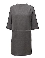SFLAVA 7/8 DRESS - SMOKED PEARL