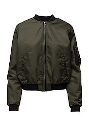 SFPABLA BOMBER JACKET - FOREST NIGHT