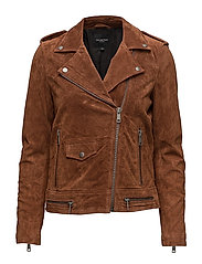 Selected Femme - Sflore Suede Jacket Camp
